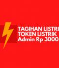 tagihan listrik dan token admin 3000